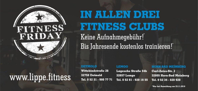 Fitness Friday DL 2018