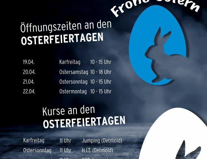 Plakat A1 Ostern Öffnungszeiten