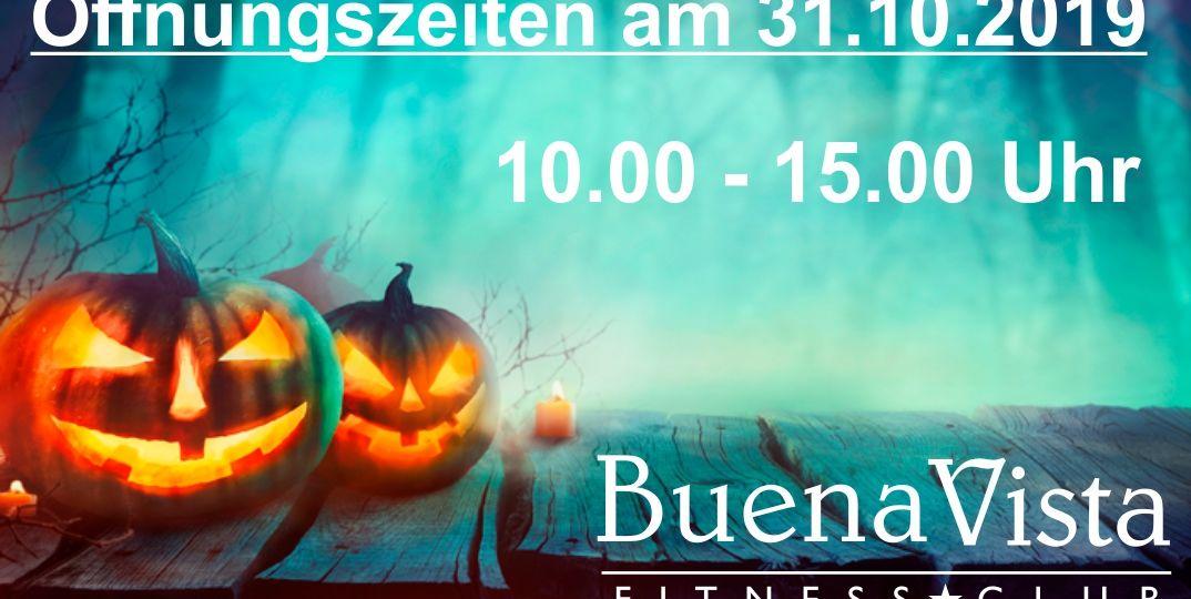 Öffnungszeiten Halloween